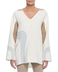 Marc Jacobs Long Sleeve Fleece Sweatshirt - Lyst