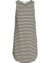 H&M Sleeveless Chiffon Dress - Lyst
