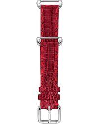 Fendi Selleria Red Teju Lizard Watch Strap - Lyst