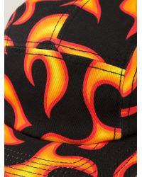 Love Moschino - Fire Print Cap - Lyst