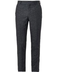 Carven Herringboneweave Tailored Trousers - Lyst