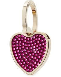 Judith Leiber Couture Heart Key Ring - Lyst