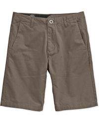 Volcom Faceted Chino Shorts - Lyst