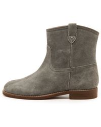 Madewell The Otis Boots  Techno Grey - Lyst