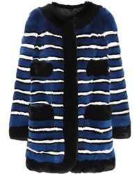 Marc Jacobs Fur Coat - Lyst