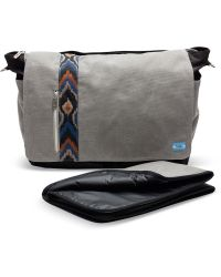 TOMS - Charcoal Canvas Nylon Baby Bag Messenger - Lyst