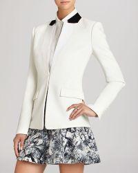 BCBGMAXAZRIA Bcbg Max Azria Blazer  Ryan Contrast Collar Tuxedo - Lyst