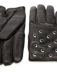 RED Valentino - Eyelet Gloves - Lyst