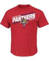 Majestic Men'S Florida Panthers Home Advantage T-Shirt - Lyst