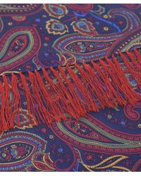 Tootal - Silk Paisley Scarf - Lyst