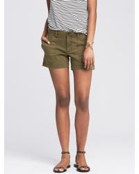 Banana Republic Chino Utility Short - Lyst
