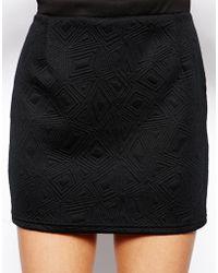 Tfnc Sibe Mini Skirt - Lyst