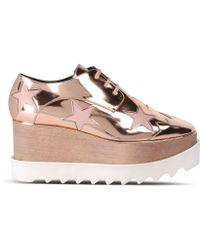 Stella McCartney | Copper Elyse Star Shoes | Lyst