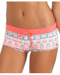 Hurley - Phoenix Drawstring Short Color: Pink Size: M - Lyst
