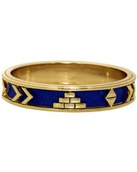 House Of Harlow 1960 Aztec Bangle blue - Lyst