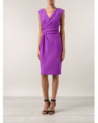 Oscar de la Renta Pencil Dress - Lyst