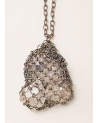 Henson - Netted Necklace - Lyst