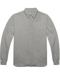 Oliver Spencer Leighton Grey New York Special Shirt gray - Lyst