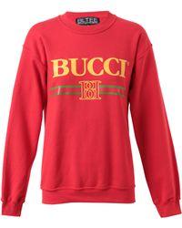 Brian Lichtenberg Unisex Bucci Cotton Sweatshirt - Lyst