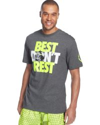Nike Best Dont Rest Tshirt - Lyst