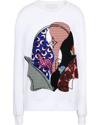 Stella McCartney  Applique Crew Neck Jumper - Lyst
