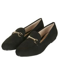 Topshop Seattle Snaffle Loafers - Lyst
