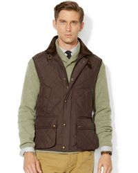 Polo Ralph Lauren  Solid Epson Quilted Vest - Lyst
