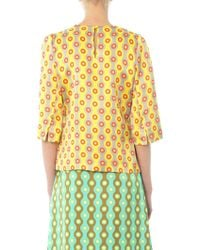 Jonathan Saunders - Abbey Printed Top - Lyst