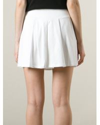 Kai-aakmann - Pleated Mini Skirt - Lyst