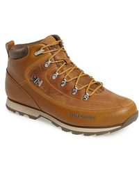 Helly Hansen - 'the Forester' Water Repellent Leather Boot - Lyst