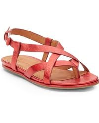 Gentle Souls Only Joy Leather Strappy Sandals - Lyst