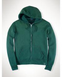 Polo Ralph Lauren Cotton-Blend Fleece Hoodie - Lyst