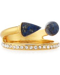 Vita Fede | Ultra Mini Titan Lapis & Crystal Ring | Lyst