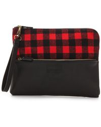Pendleton - Wristlet Clutch Rob Roy Red - Lyst