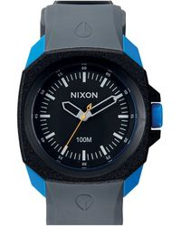 Nixon Ruckus Black / Sapphire / Grey Watch - Lyst