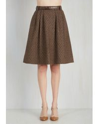 ModCloth | Mentor Of Attention Skirt | Lyst