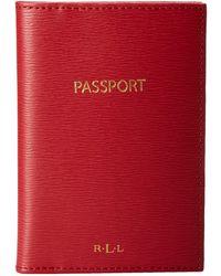 Lauren by Ralph Lauren - Tate Passport Wallet - Lyst