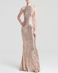 Badgley Mischka Gown - Sequin - Lyst