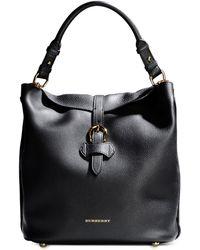 Burberry London Medium Leather Bag - Lyst