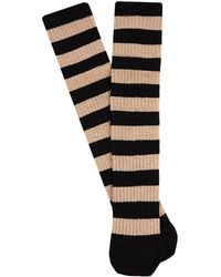 Dolce & Gabbana - Metallic-stripe Socks - Lyst