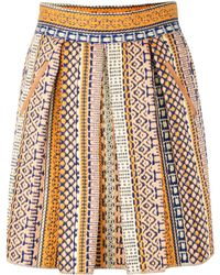 Morgan Carper Maka Skirt - Lyst