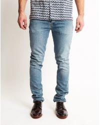 Nudie Jeans | Grim Tim Navy Crisp Jeans | Lyst