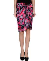 Blumarine Knee Length Skirt - Lyst
