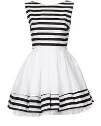 Topshop Grace Striped Dress By Jones and Jones - Lyst