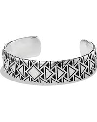 David Yurman Frontier Wide Cuff - Lyst