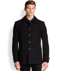 Burberry Brit Elmscott Wool & Cashmere Car Coat - Lyst