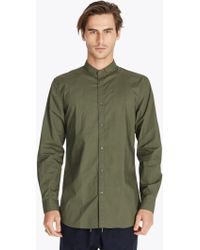 Zanerobe | Tuck Collar L/s Shirt | Lyst