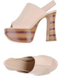 Chloé Pink Sandals - Lyst