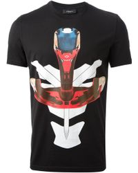 Givenchy Printed T Shirt - Lyst
