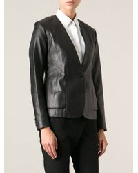 Theory Buttoned Jacket - Lyst
